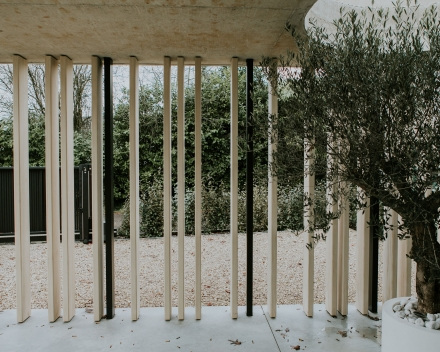 palenwand carport ism ICOON-architecten