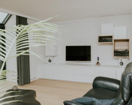 TV meubel, ontwerp architecte Nele Symens
