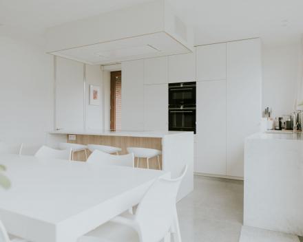 inrichting keuken aan living