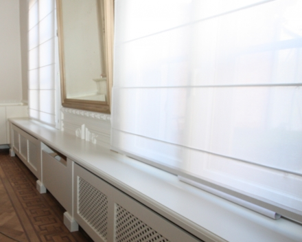 inrichting kinepraktijk in oud schoolgebouw